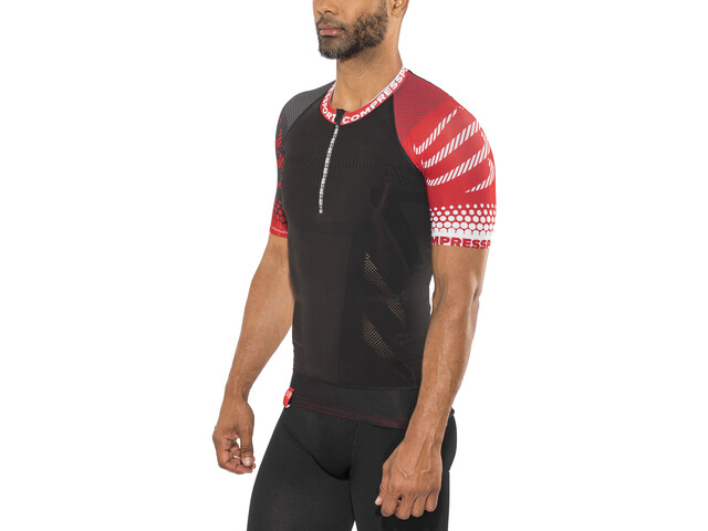 Compressport Trail Running SS Shirt black